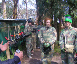Paintball Skirmish Woodend