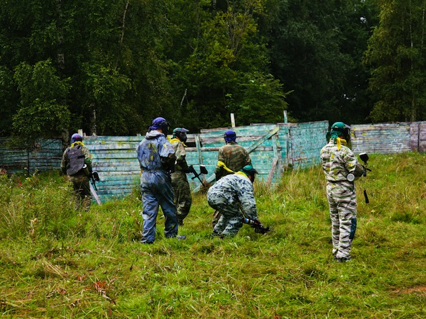 Paintball Skirmish Old Bar