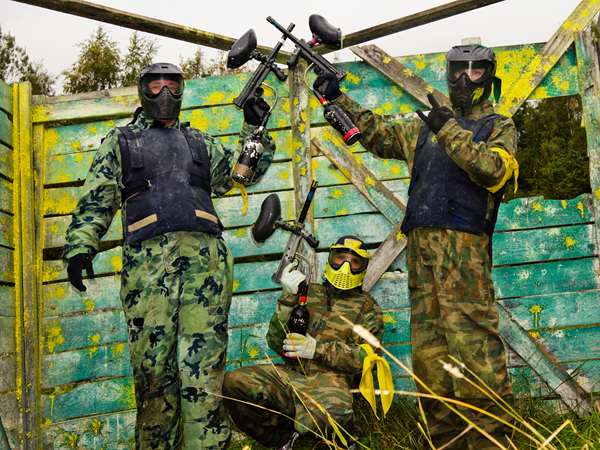 Paintball Skirmish Roxby Downs