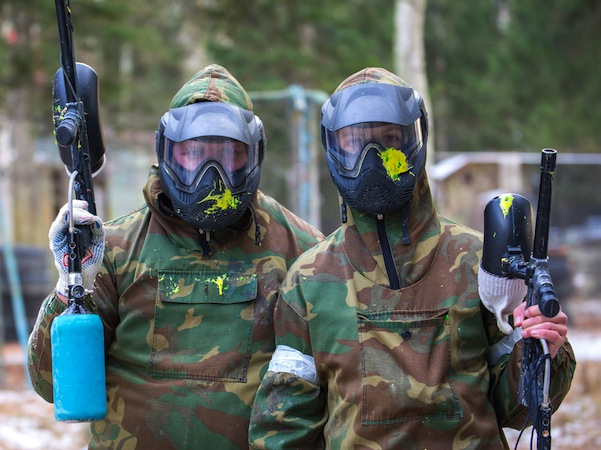 Paintball Skirmish North Brother