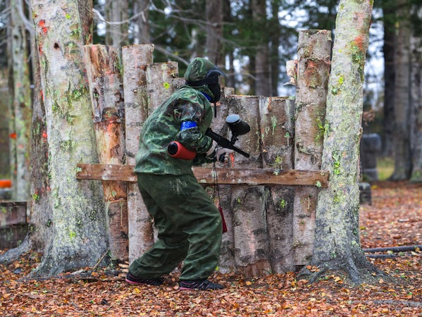 Paintball Skirmish Emerald