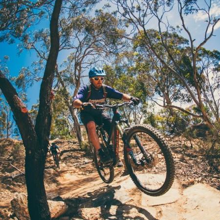 Mountain Biking EscapeGoat Adventures,