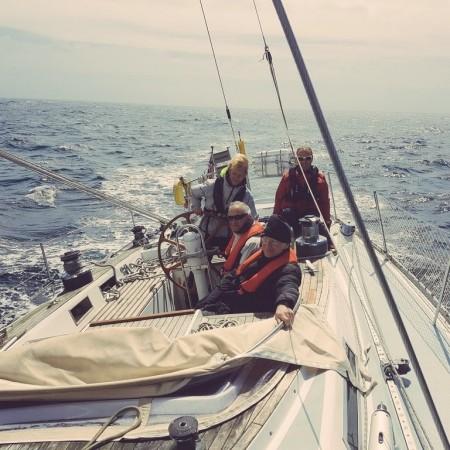 Sailing Falmouth, Corwall,