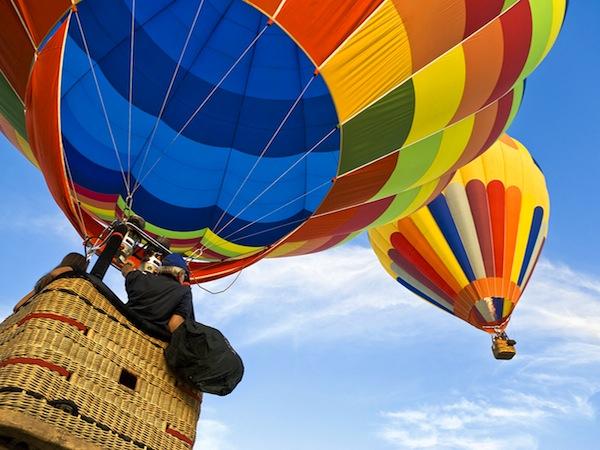 Hot Air Ballooning XPokolbin, NSW,