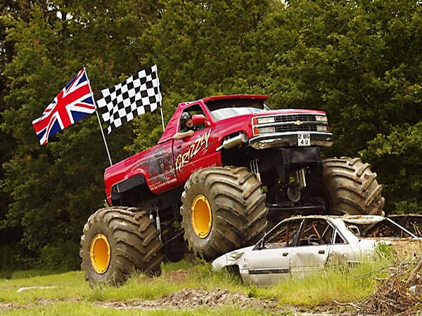 Monster Truck Driving East Grinstead, West Sussex
