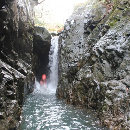 Canyoning Coniston, Cumbria, Cumbria