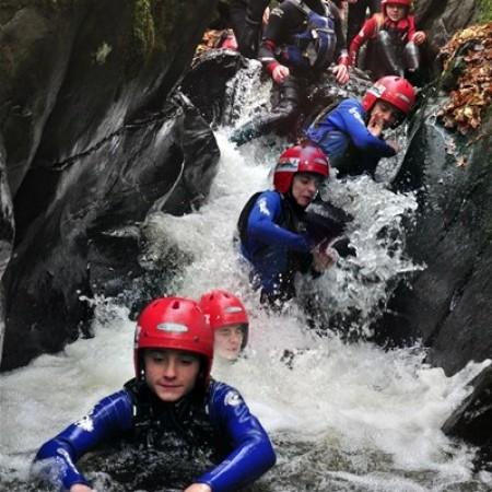 Canyoning Llangollen, Clwyd