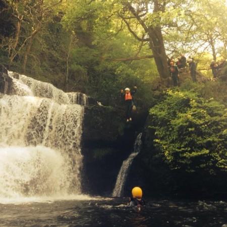 Canyoning Porthcawl, Mid Glamorgan