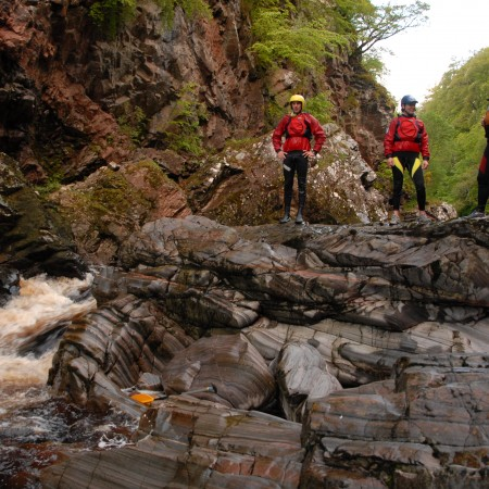 Canyoning Ferness, Inverness-Shire