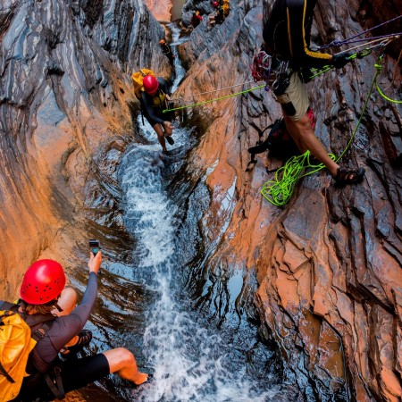 Canyoning West Oz Active Adventure Tours,