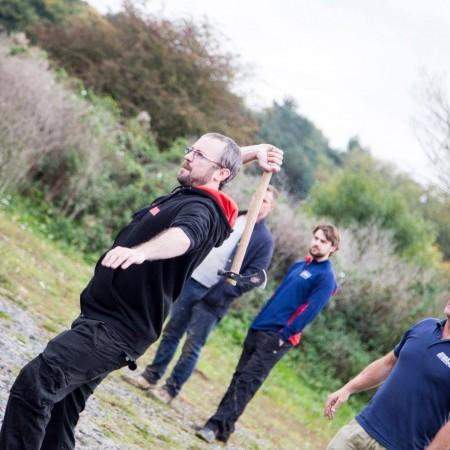 Axe Throwing Bere Regis, Dorset, Dorset