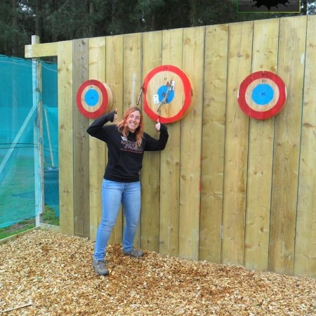 Axe Throwing Budby, Nr Worksop, Nottinghamshire