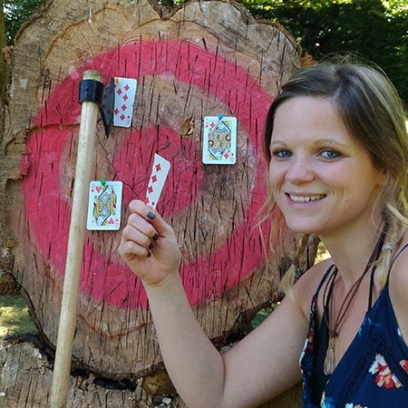 Axe Throwing Eccles, Lancashire