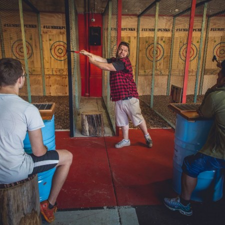 Axe Throwing Lumber Punks Axe Throwing - West End, 0