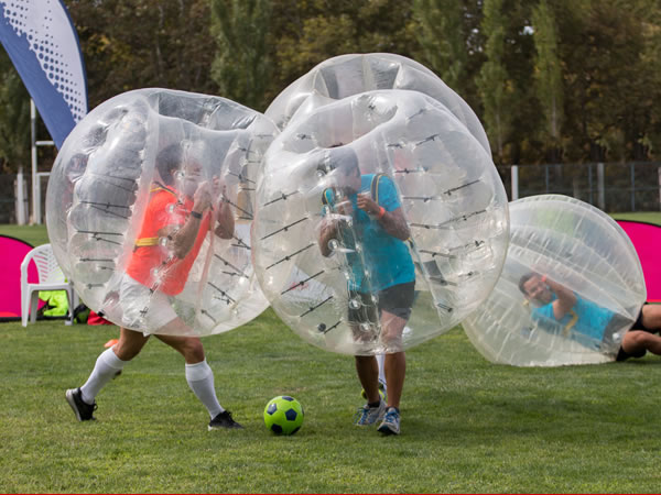Bubble Football Sheffield 2, Warwickshire
