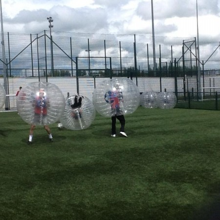 Bubble Football Ipswich, Norfolk