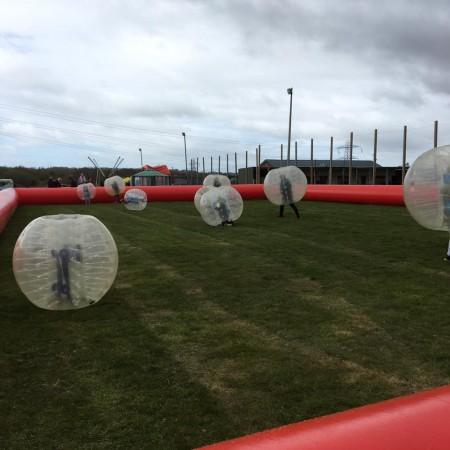 Bubble Football Clutton, Nr Chester, Surrey