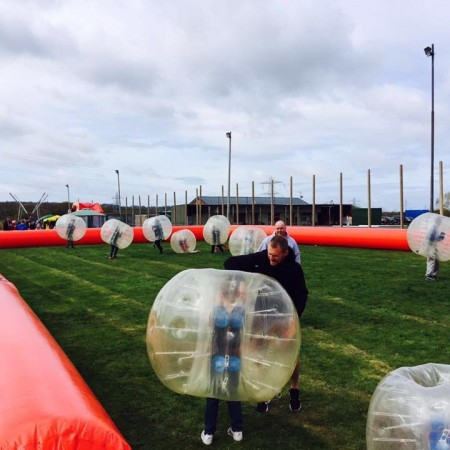 Bubble Football Heswall, Wirral, Merseyside