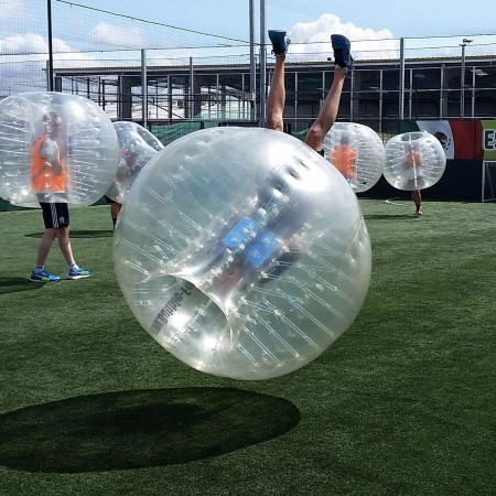 Bubble Football Skegness, Lincolnshire