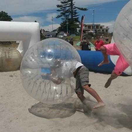 Bubble Football Bumper Ball, 0