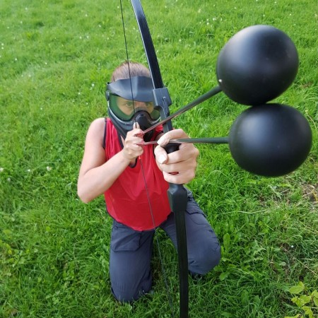 Combat Archery Broxton, Nr Chester, Cheshire