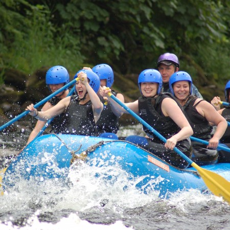White Water Rafting Grandtully - River Tay, Perthshire