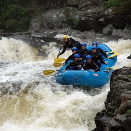 White Water Rafting Killicrankie - River Tummel, Perthshire