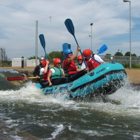 White Water Rafting Northampton, Northamptonshire