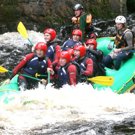White Water Rafting Porthcawl, Mid Glamorgan, Mid Glamorgan