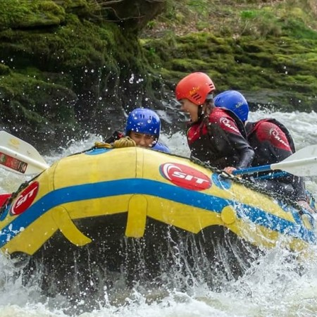 White Water Rafting Llangollen 2, Conwy