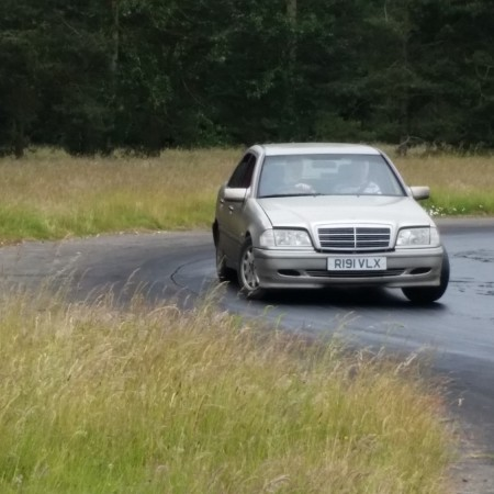 Skid Pan Driving Honington, Suffolk, Suffolk