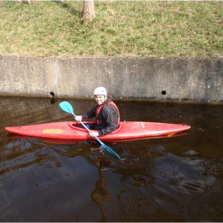 Kayaking Llangollen, Clwyd