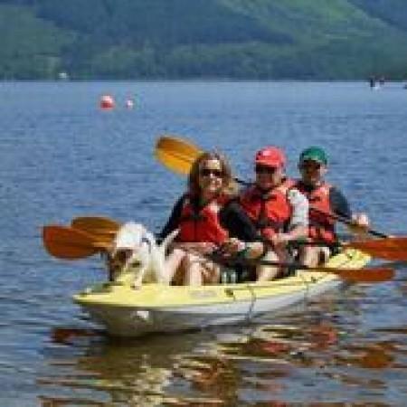 Kayaking Luss , City of Edinburgh