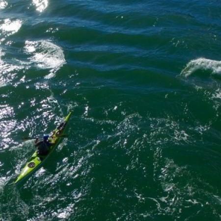 Kayaking Anglesey ,