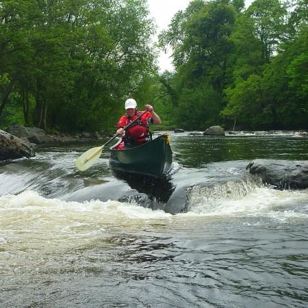 Canoeing Llangollen North ,