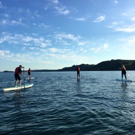 Paddle Boarding (SUP) Saundersfoot, Pembrokeshire