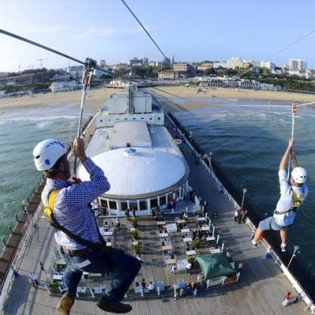 Zip Wire Bournemouth, Dorset,