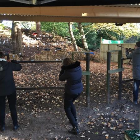 Air Rifle Ranges Peckforton, Cheshire