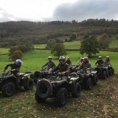 Quad Biking Kentchurch, Powys