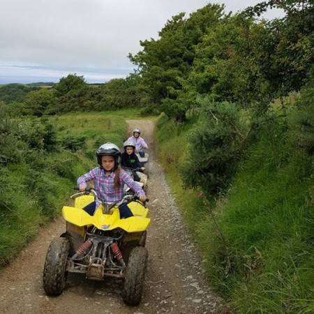 Quad Biking Ilfracombe - Two Potts, Devon, Devon