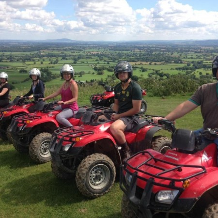 Quad Biking Powys, Clwyd, Shropshire