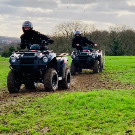 Quad Biking Coalpit Health, Bristol, Bristol