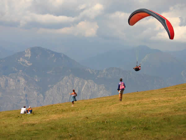 Paragliding Birthday Party