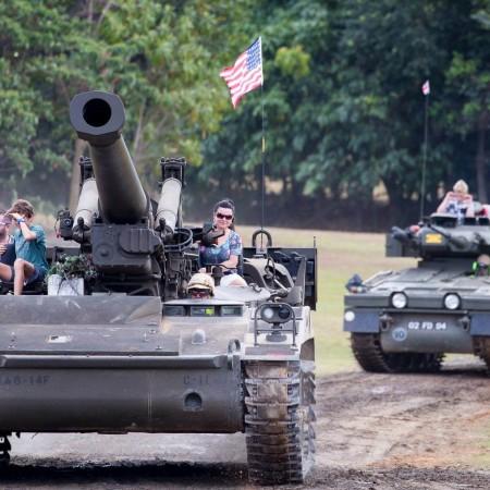 Tank Driving Smithfield, 0