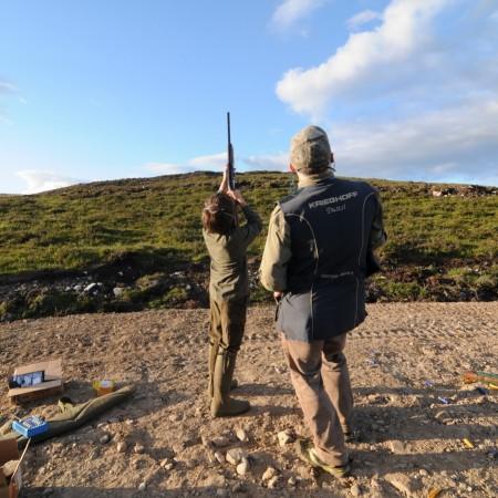 Clay Pigeon Shooting Altass, Highlands, Sutherland