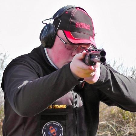 Clay Pigeon Shooting St Columb, Cornwall, Cornwall