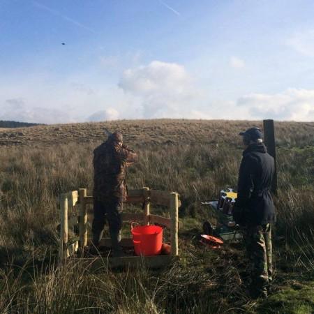 Clay Pigeon Shooting Seven Sisters, Nr Neath, West Glamorgan