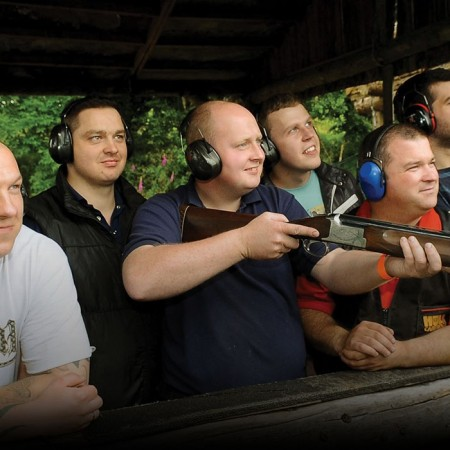 Clay Pigeon Shooting Ballygawley, Tyrone