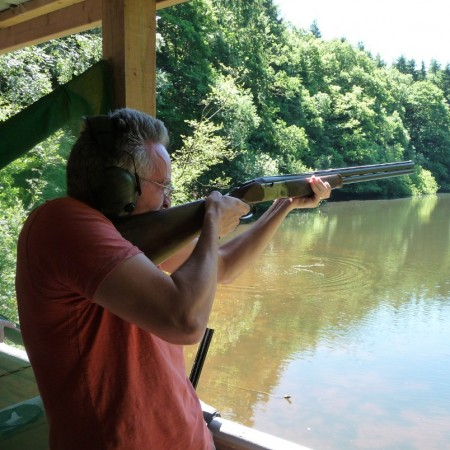 Clay Pigeon Shooting Leominster, Herefordshire, Herefordshire