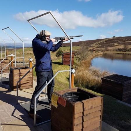 Clay Pigeon Shooting Colne, Lancashire, Lancashire
